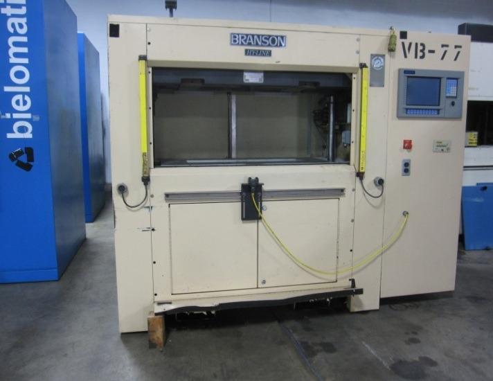 Welding Platen Table Branson VW-6UHL vibration welder (sold) » Plastic Welding