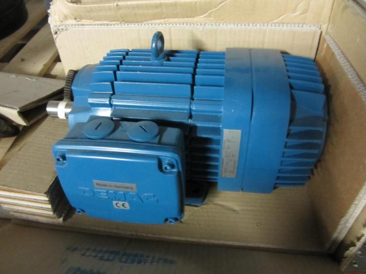 Demag Kba100b4 Conical Rotor Brake Motor Plastic Welding