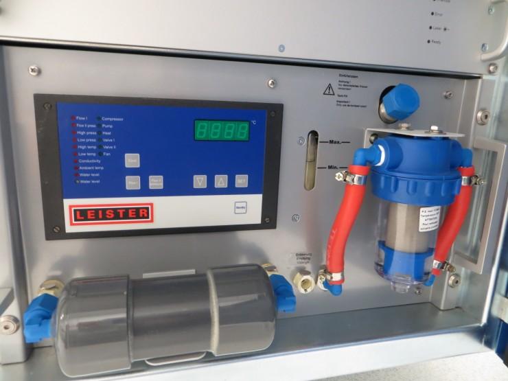 Leister Novolas Ws Cd Laser System Line Beam 187 Plastic